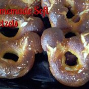 Homemade Mickey Mouse Ear Soft Pretzel Recipe