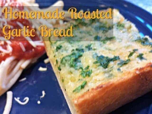 Recipe for easy homemade garlic bread