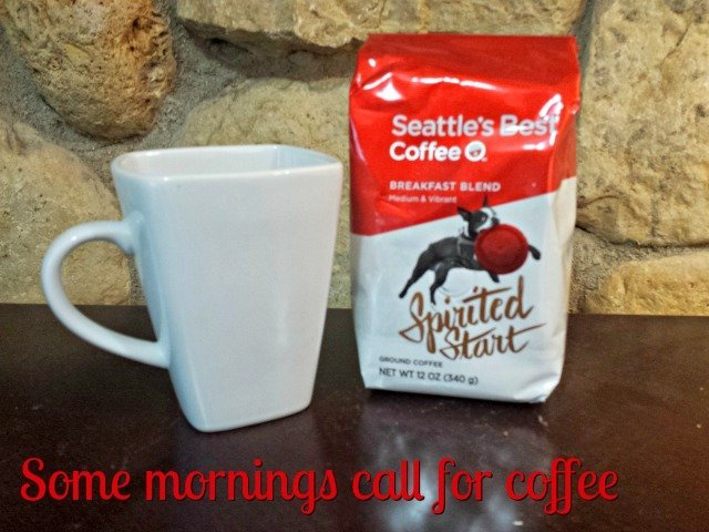 Some mornings require coffee, and Seattle's Best home brews are there for you - today with a giveaway