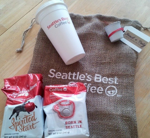 Samples of Seattle's Best Coffee