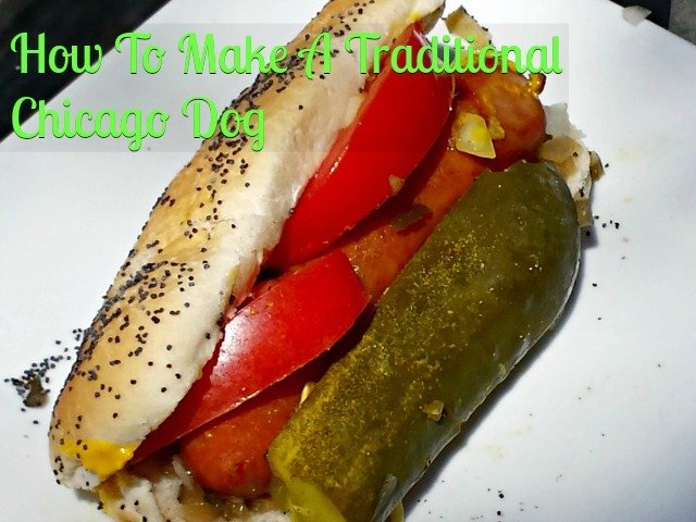 How to make a traditional Chicago dog #AmericanCraft #shop #StartYourGrill