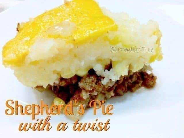 Not your traditional shepherd's pie, but this recipe is so much better!