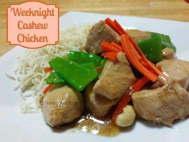 Weeknight Cashew Chicken