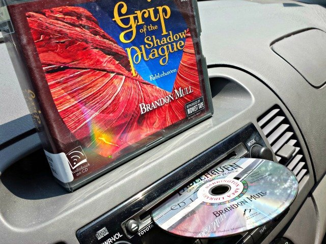 Use audiobooks to keep kids entertained and quiet in the car