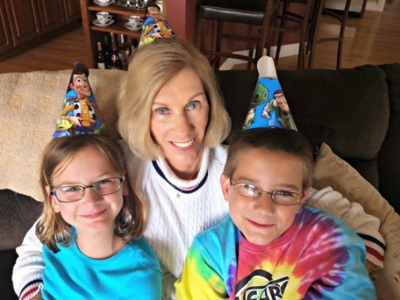 Celebrate a birthday no matter your age with party hats