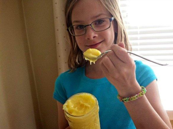 Someone is stealing my lemon curd