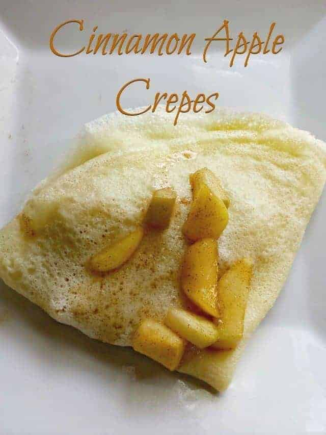 Cinnamon Apple Crepe Recipe