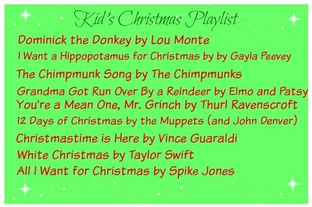 Best Christmas playlists for kids