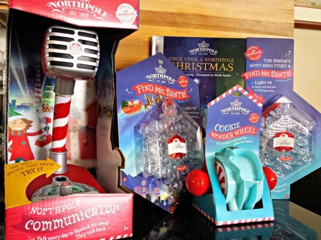 Selection of Northpole Christmas items