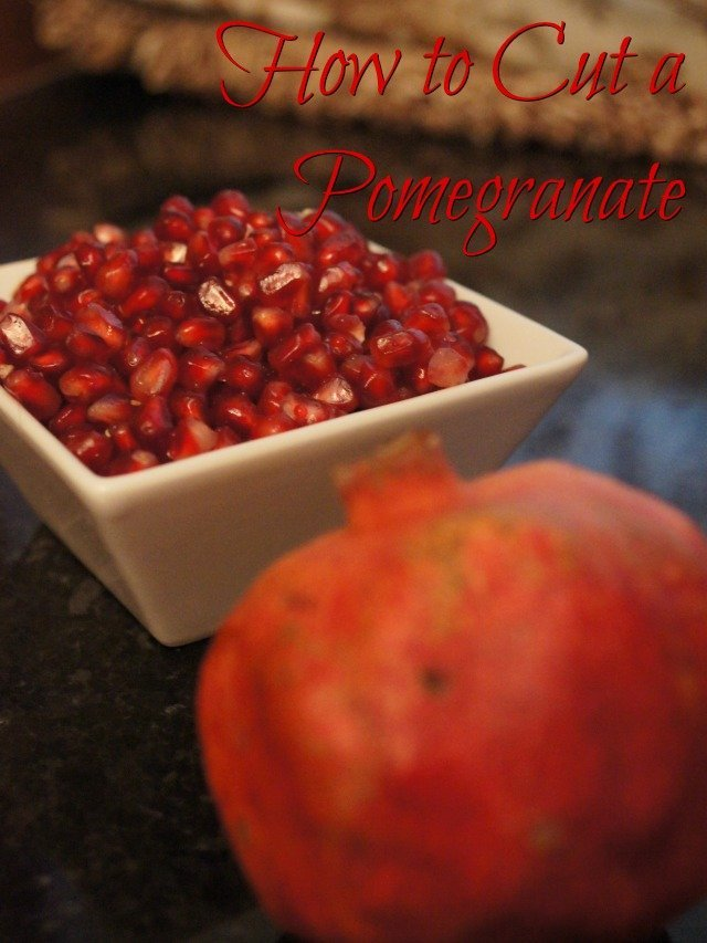 Pomegranate and arils