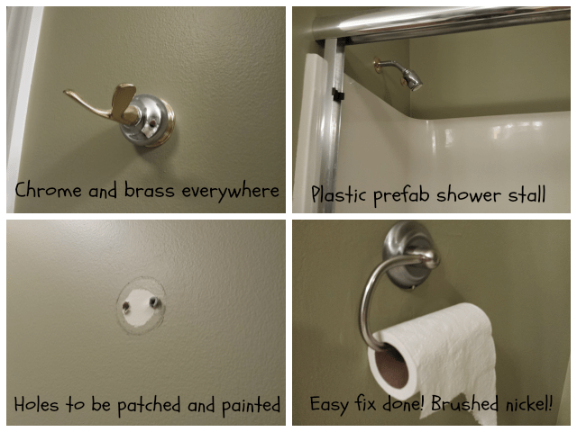 Easy bathroom fixes
