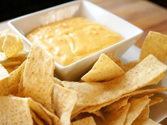 Ready to serve homemade nacho cheese sauce