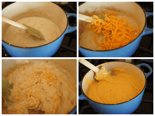 Steps to make homemade nacho cheese sauce