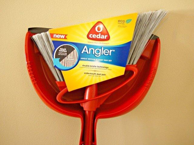 New O-Cedar angler broom works so much better