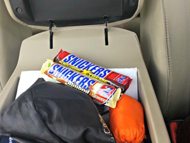 Saving snickers for later