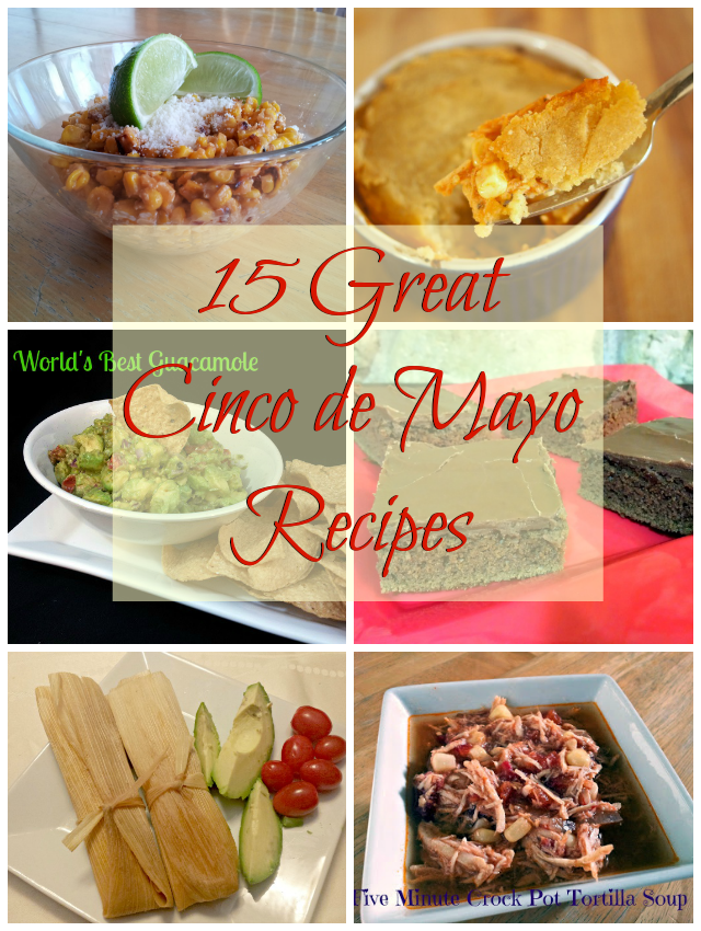 15 great Cinco de Mayo recipes complete with allegen information