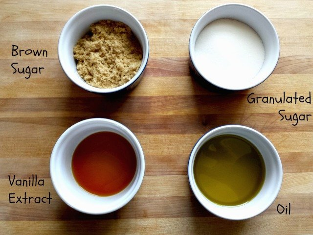 Sugar Cookie Brown Sugar Scrub ingredients