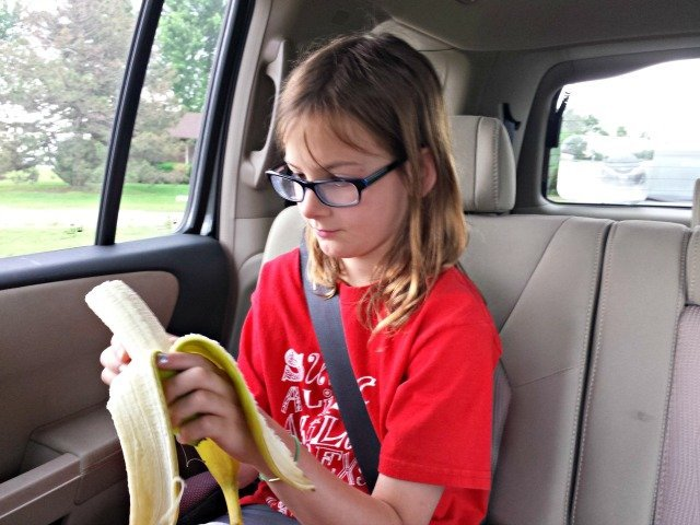 Busy summer means eating lunch in the car