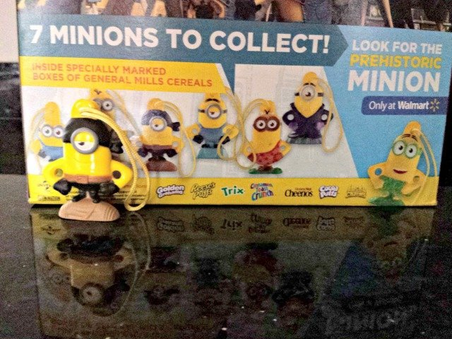 Finding the 7th minion at Walmart