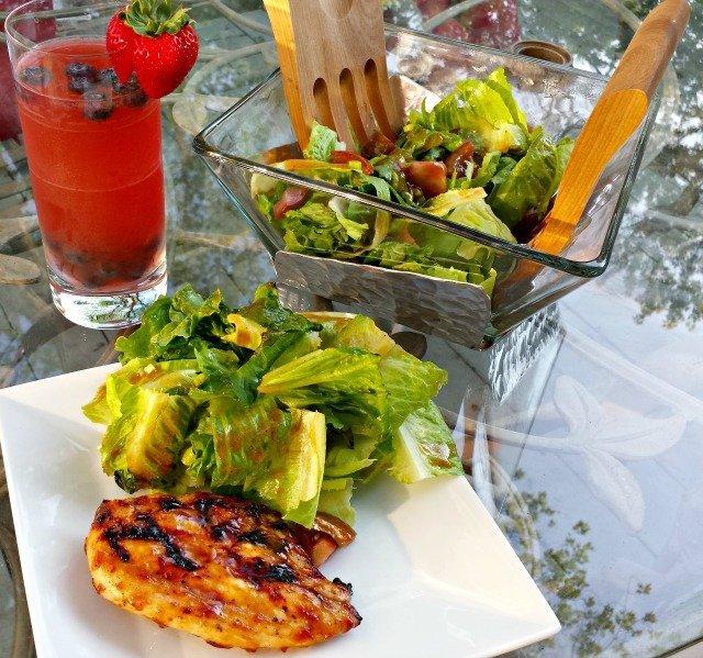 Homemade BBQ Sauce Salad Dressing