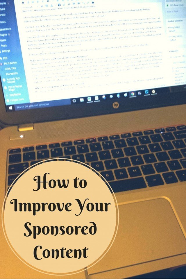 How to Improve Your Sponsored Content