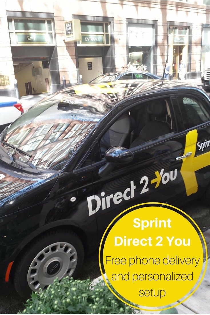 Sprint Direct 2 You service. Set a free appointment online for free phone activation and setup with a tutorial on how to use your new phone