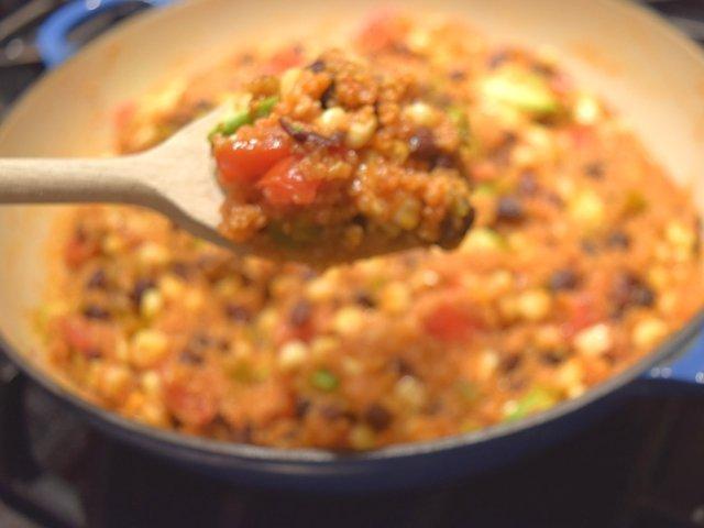 Mexican Skillet Quinoa