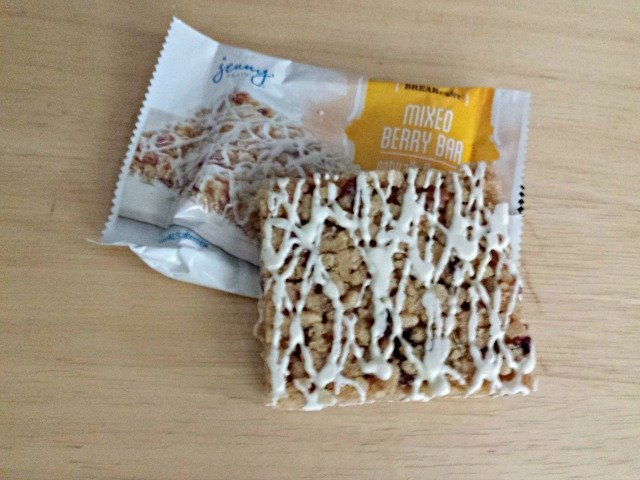 Breakfast example from Jenny Craig weight loss starter kit