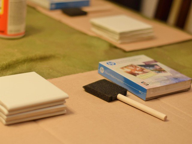 Diy Photo Coasters Tutorial Honest And Truly