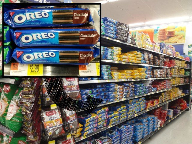 OREO cookies at Walmart