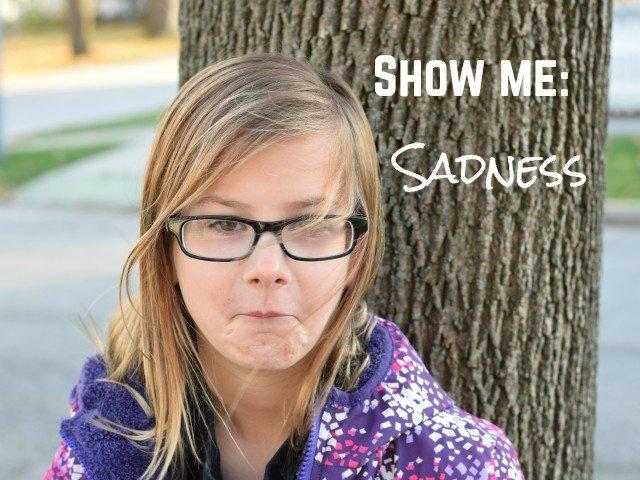 Show me sadness