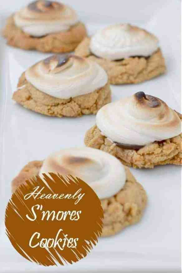 Heavenly s'mores cookies