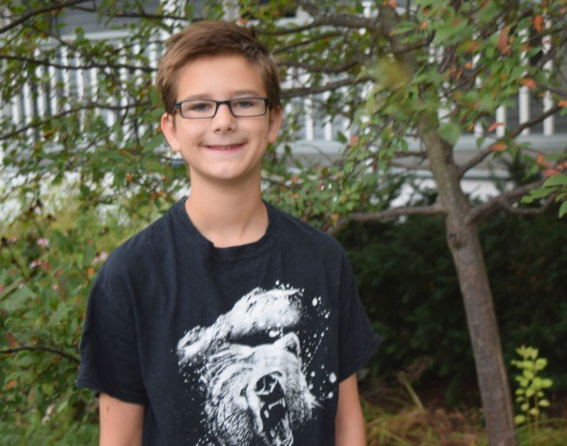 Mister Man first day of 6th grade