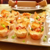 New Years Eve easy appetizer and DIY poppers