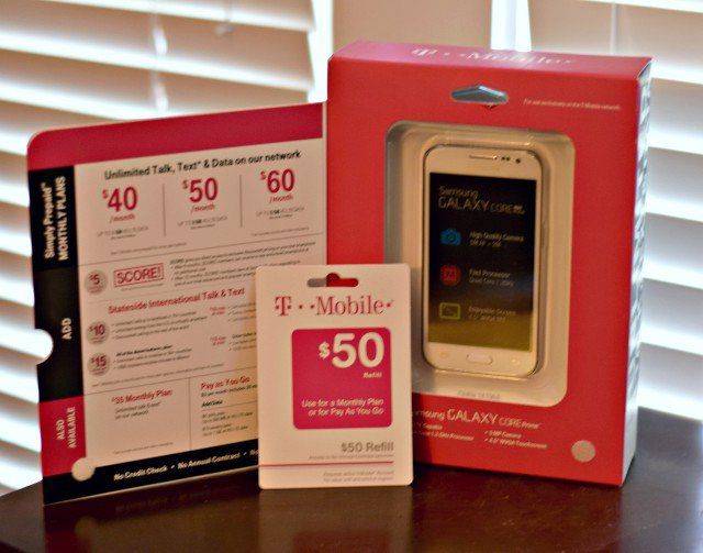T Mobile Simple Choice Plan Phone