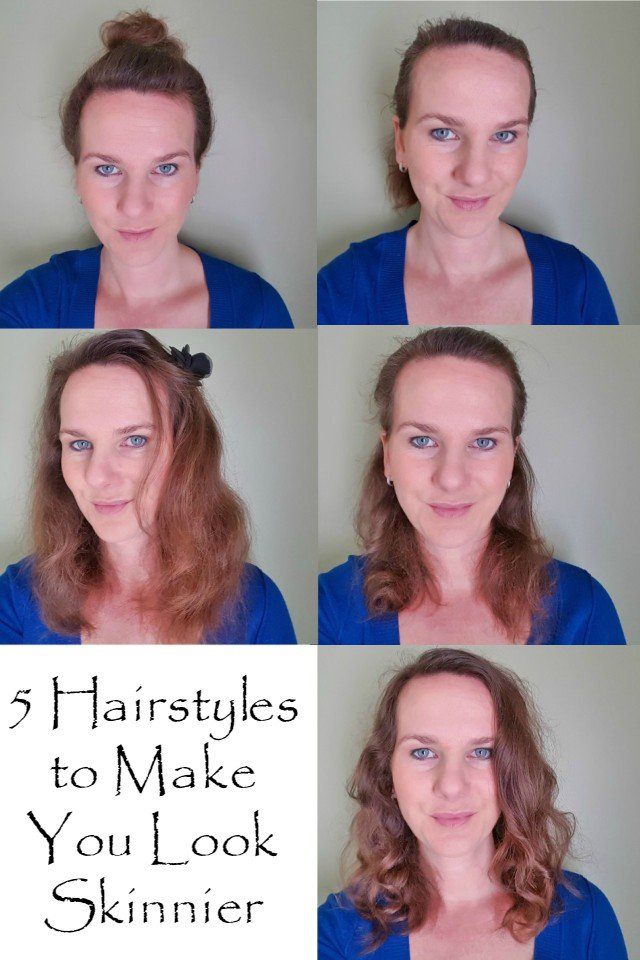 5 Simple Slimming hairstyles to make your face look skinnier