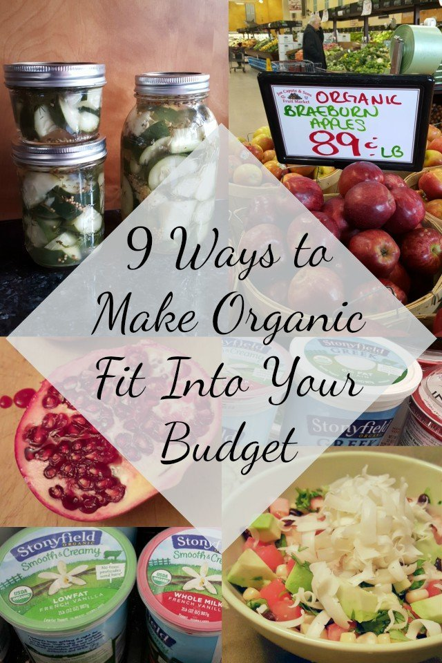 9 Tips on How to Make Organic Affordable. It can fit into your budget