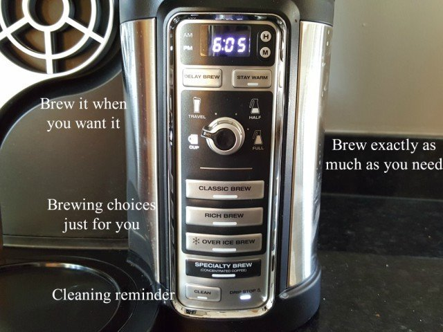 Brew the coffee you want when you want with Ninja Coffee Bar