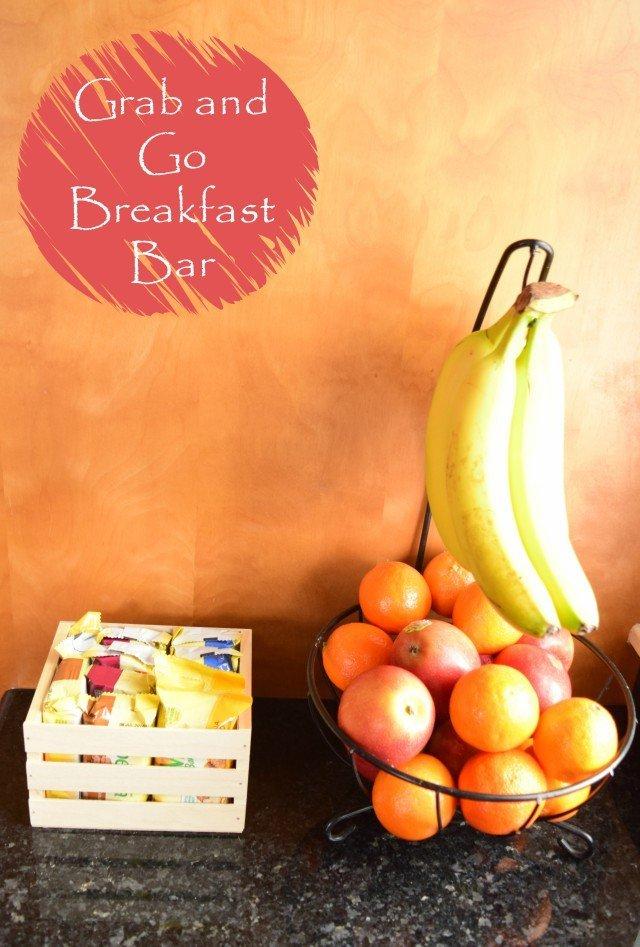 DIY Breakfast Bar or Grab and Go Breakfast Ideas
