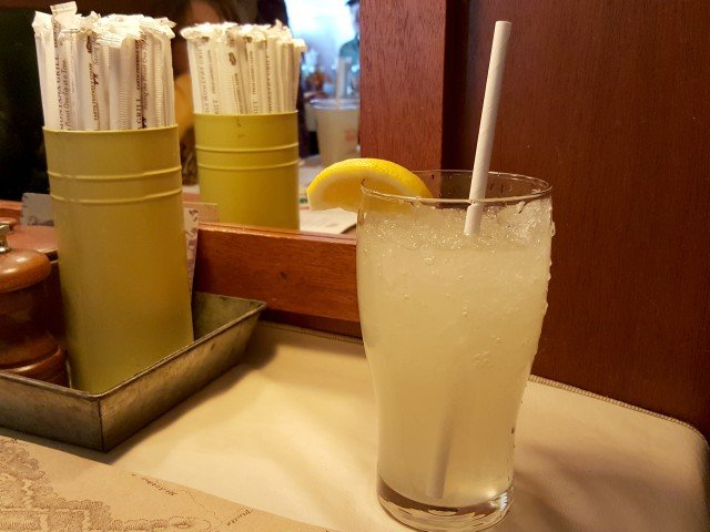 Fresh lemonade from Ted's Montana Grill