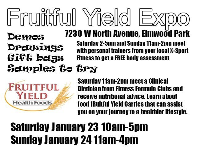 Fruitful Yield Expo Information Elmwood Park