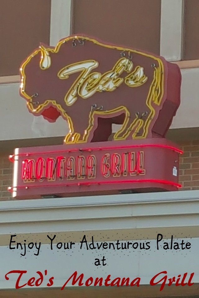 Ted's Montana Grill has a fun menu. Review of the experience from the kids menu to the lunch specialties.