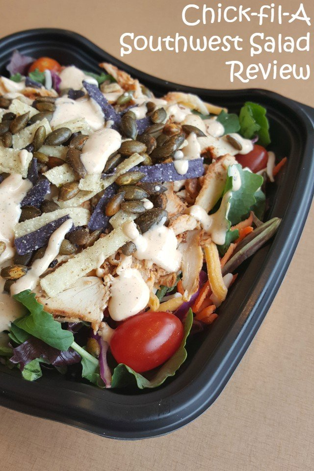 Chick-fil-A Southwest Salad review spicy