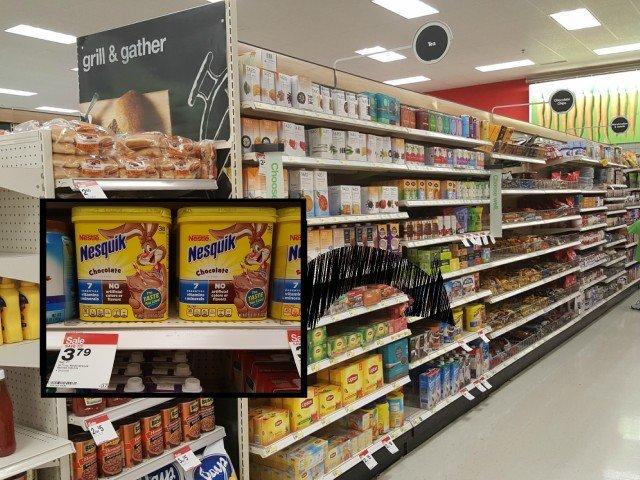 Nesquik at Target