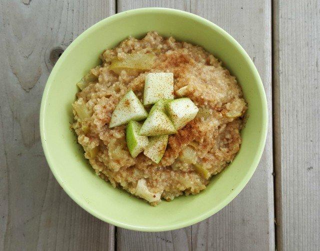 Caramelized Apple Oatmeal
