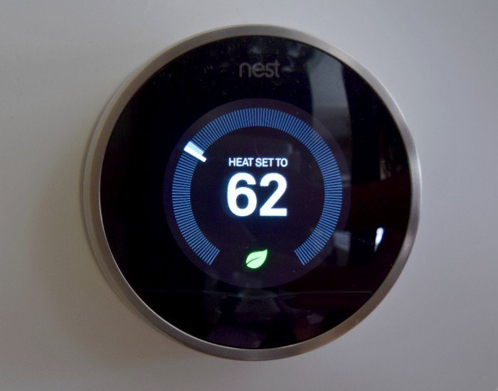 Nest thermostat saves energy