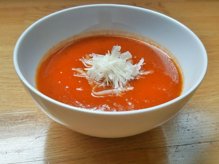Instant pot balsamic tomato soup recipe