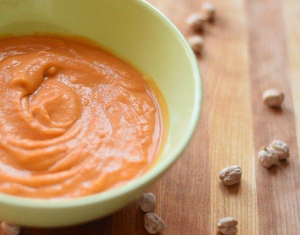 Creamy Chickpea Tomato Soup