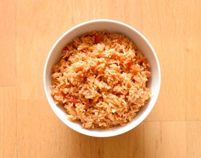 Easy peasy instant pot spanish rice recipe