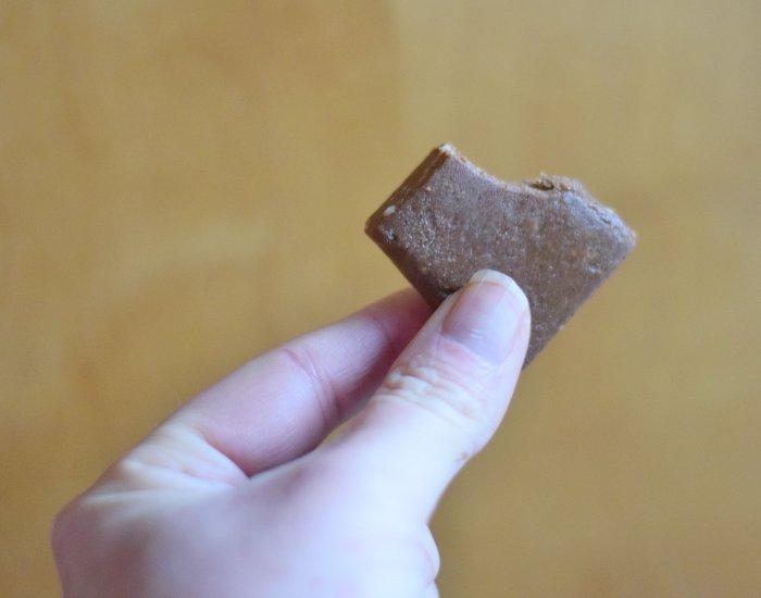 Bulletproof fudge brownie snack